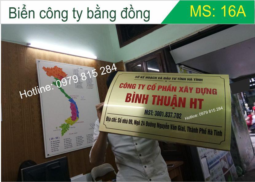bien cong ty bang dong